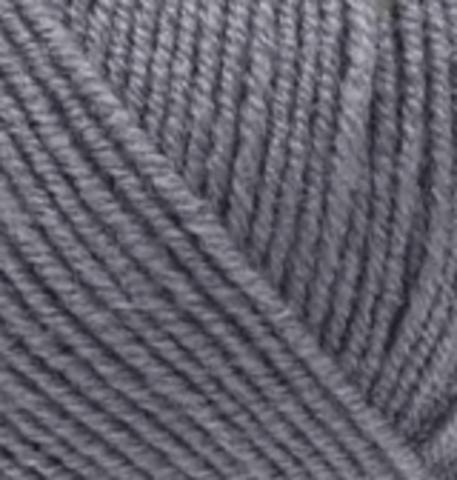 Пряжа Alize Superlana KLASIK 87 угольно-серый, фото