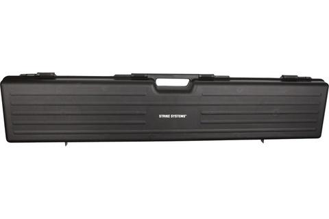 Кейс винтовочный жесткий черный, 125x25x10 см (пластик) Италия (артикул 14218)