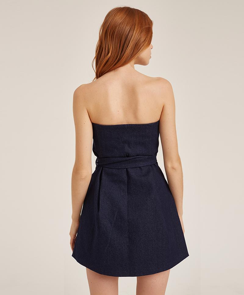 платье-корсет-из-синего-денима-сзади
