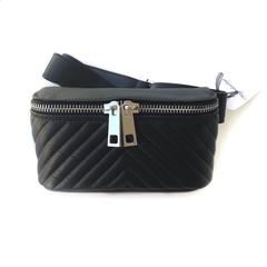 Belt bag (Black) / Поясная сумка (Черный)