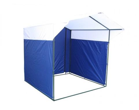 Торговая палатка «Домик» 2 x 2 К из квадратной трубы 20х20 мм, тент ПВХ