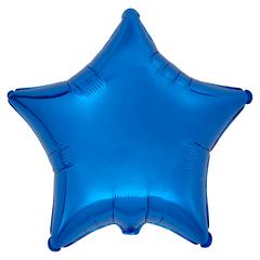 Воздушный шар Звезда 44см (Синяя)