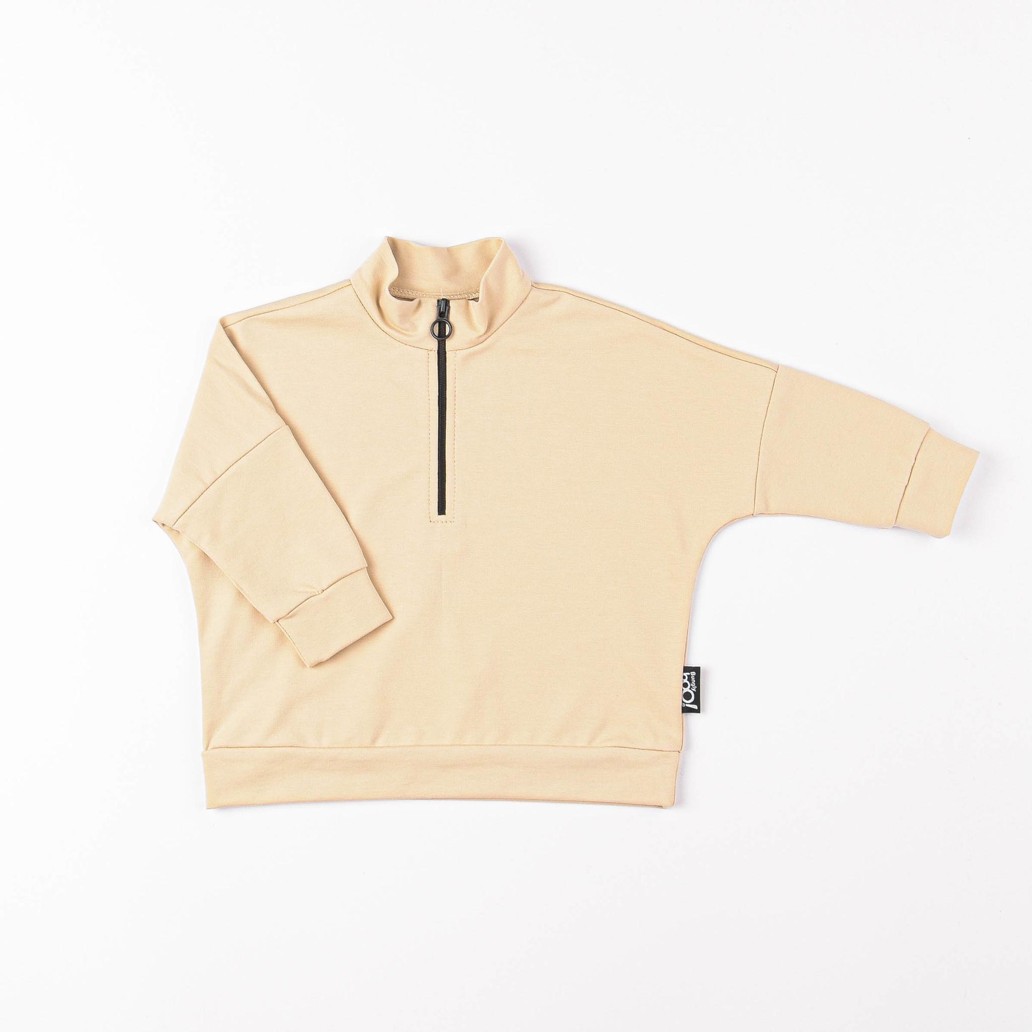 Sporty sweatshirt - Safari
