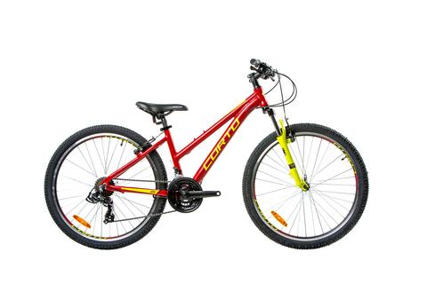 горный велосипед Corto LYNX 2021 матовый красный