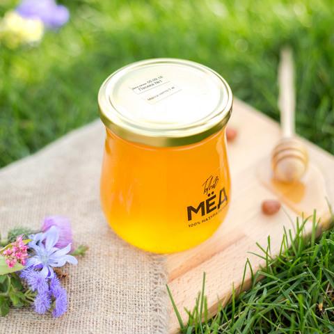 Мёд липово-цветочный 2021 Самарская Лука 0,5 кг (660г)