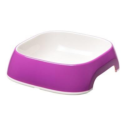 Миски, диспенсеры Пластиковая миска, Ferplast GLAM MEDIUM, фиолетовая 0,75 л GLAM_MEDIUM_фиолетовая.jpg
