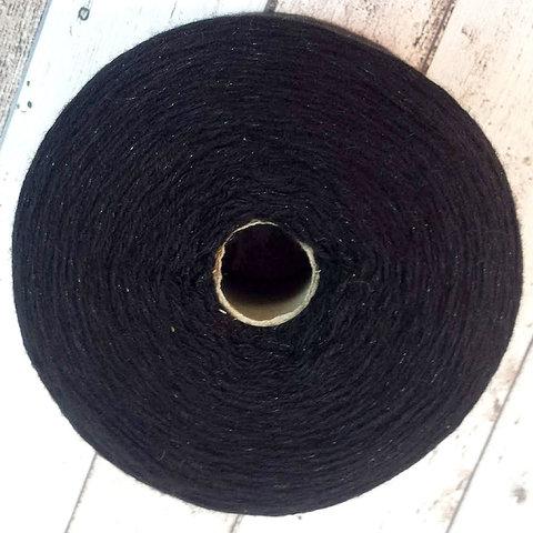 Смотка кашемир (68%), суперджилонг и люрекс черный с блеском