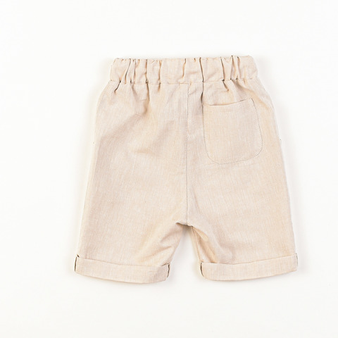 Хлопковые шорты-бермуды