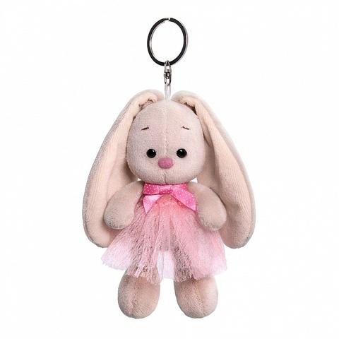 Брелок Зайка Ми в розовой юбке с бантиком