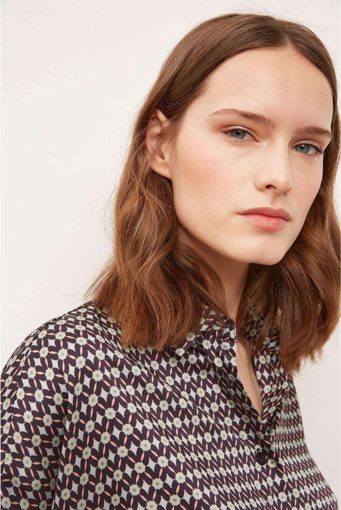 NARA - Рубашка-оверсайз с короткими рукавами