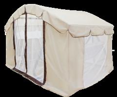Тент-шатер с сеткой для качелей Тет-А-Тет 63