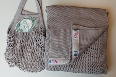 Слинг-шарф, Filt, Fil'Up, серый, (с сумкой), S,M,L,XL /Т1 (S-M)/