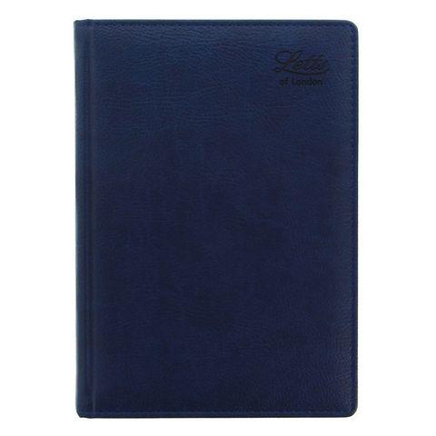 Ежедневник Letts Milano A5 (412 901020) недатированный белые стр синий