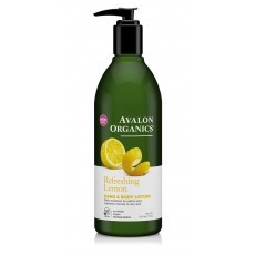Avalon Organics Hand & Body Lotion: Лосьон для рук и тела с маслом лимона (Lemon Hand & Body Lotion), 340г