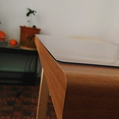 Коврик на стол  прозрачный  60 х 100см.