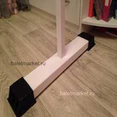Мобильный балетный станок  М1-1 однорядный