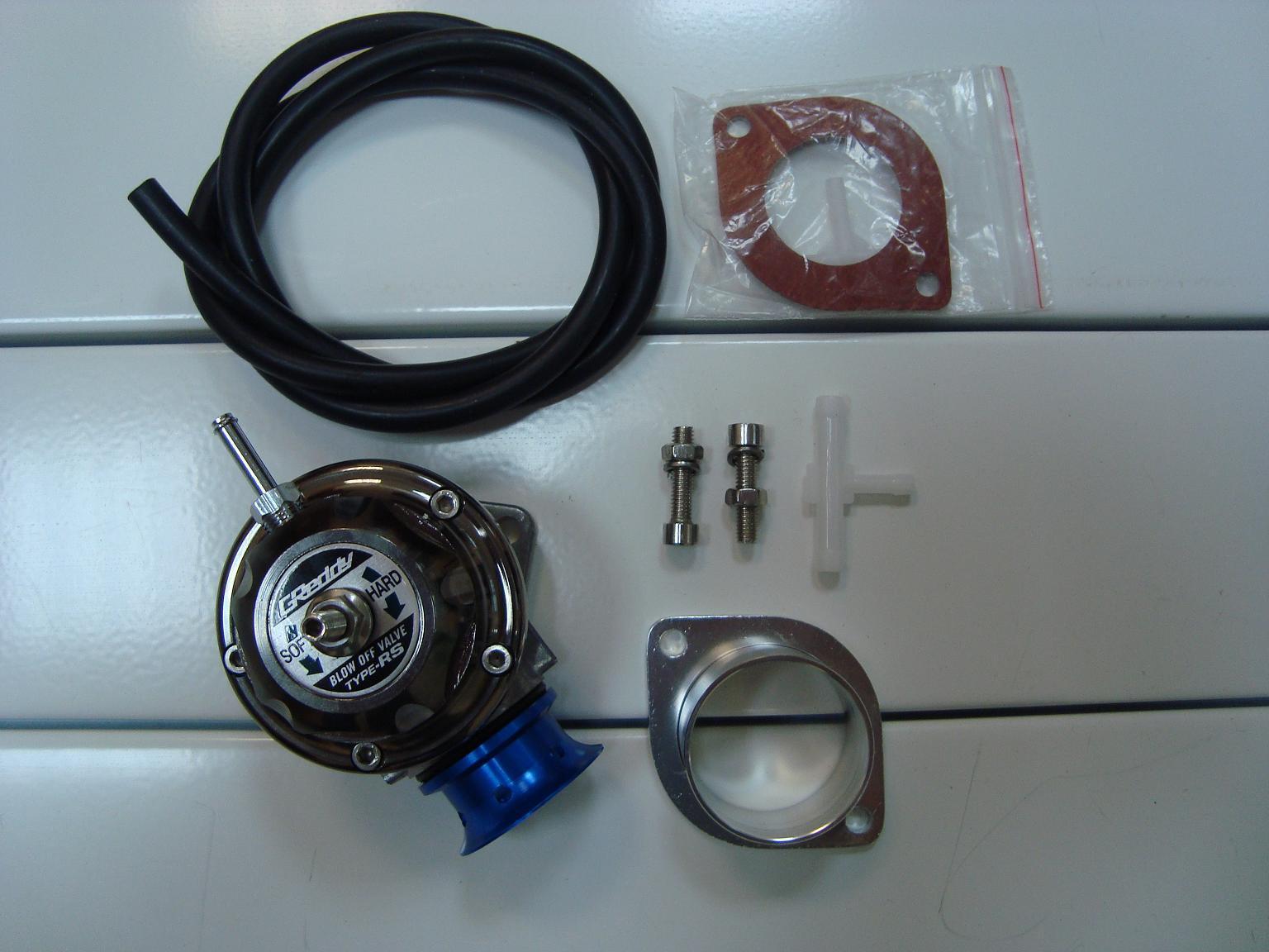 перепускной клапан GREDDY Type-RS комплектация