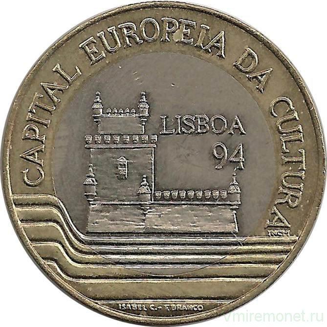 """200 эскудо 1994 года """"Лиссабон -Европейская культурная столица"""""""