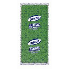 Скатерть одноразовая Luscan спанбонд 110x140 см зеленая