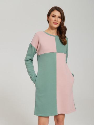 Платье Элис Зеленый гранит