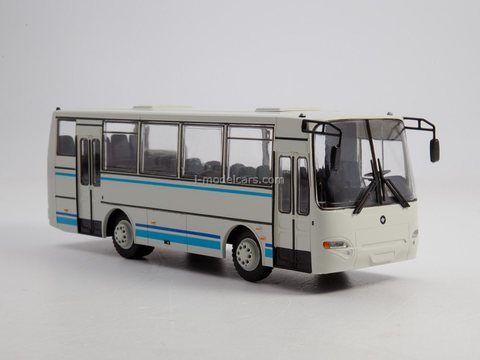 PAZ-4230 Aurora white 1:43 Modimio Our Buses #26