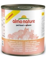 Консервы (банка) Almo Nature Classic Adult Cat Salmon&Pumpkin