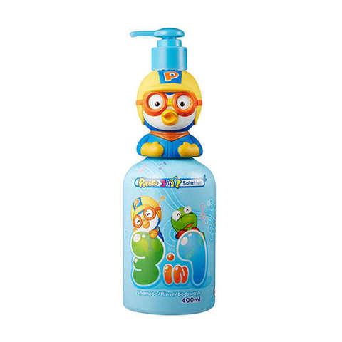 Pororo Шампунь, кондиционер и пенка для детей Petty 3 in 1 Shampoo Rince Bodywash 400 мл.