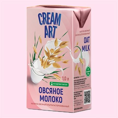 Молоко CREAM ART Овсяное 1 л т/п РОССИЯ