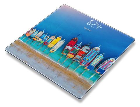 Весы напольные электронные Beurer GS215 Boats макс.180кг рисунок