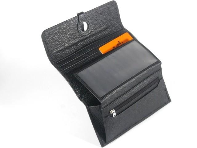Женский кошелек Hermes 2035 black
