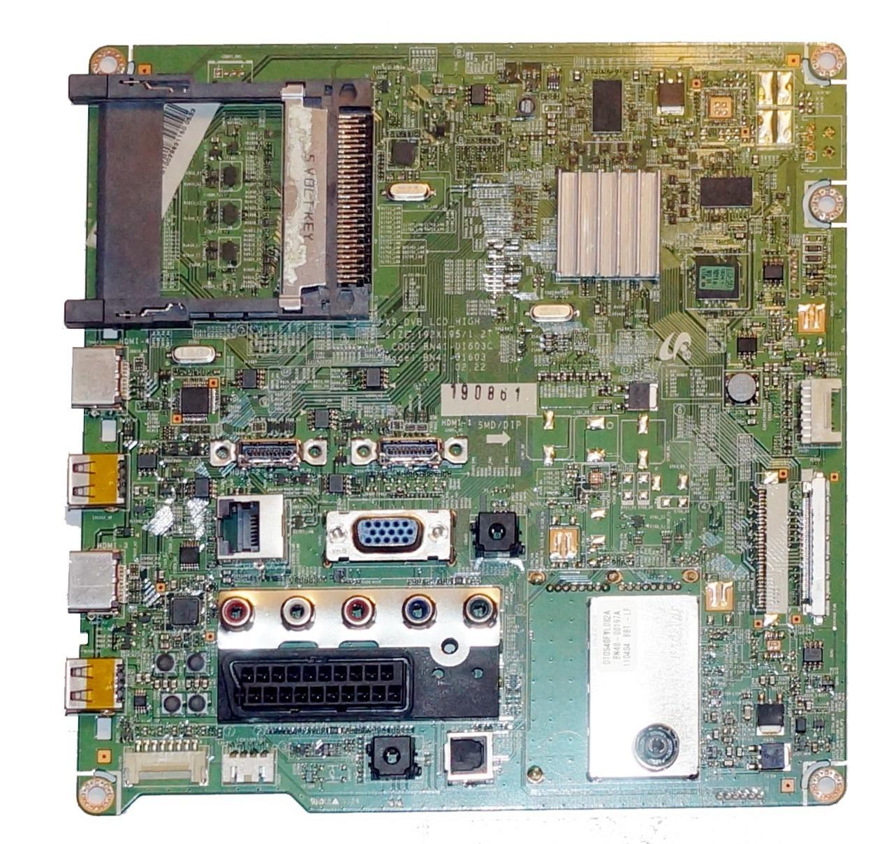 BN41-01603C BN94-0516B mainboard телевизора Samsung