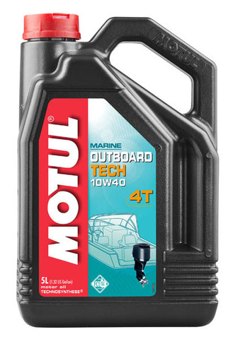 Motul Outboard TECH 4T 10W40 (5л)