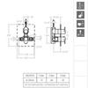 Встраиваемый термостатический смеситель для душа ALEXIA 362411S на 1 выход - фото №2
