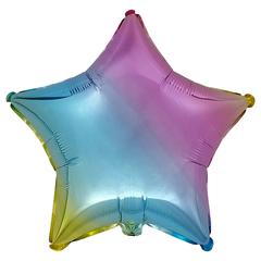 Воздушный шар Звезда 44см (Градиентная)