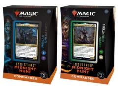 Все командирские колоды «Innistrad: Midnight Hunt» (на английском)