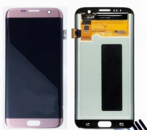 LCD SAMSUNG Galaxy S7 Edge G935F + Touch Pink Orig