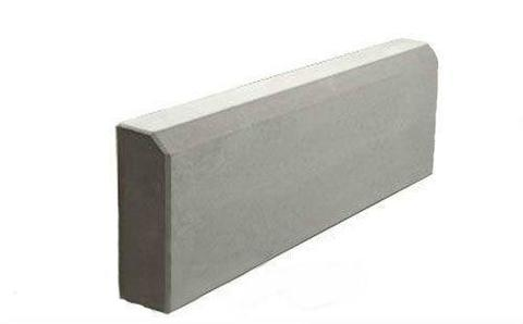 Бордюр бетонный тротуарный односторонний 500х210х50мм