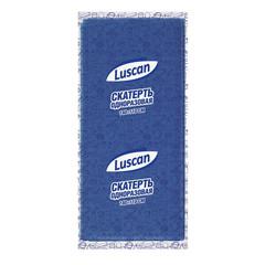 Скатерть одноразовая Luscan спанбонд 110x140 см синяя