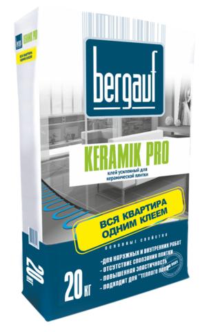 Клей д/пл.усил.Bergauf Keramik Pro 20кг