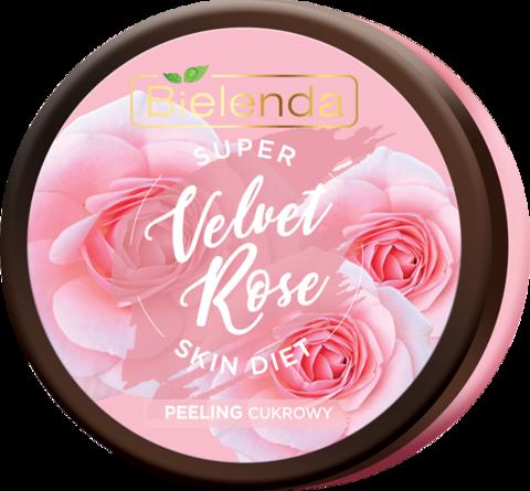 SUPER SKIN DIET Velvet Rose восстанавливающий сахарный скраб для тела Роза 350мл