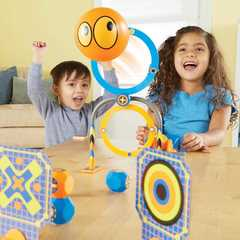 Развивающая игрушка Попади в цель. Турбо (серия Crashapult STEM, 16 элементов) Learning Resources, арт. LER9292