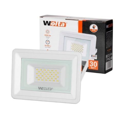Прожектор светодиодный WOLTA WFL-30W/06W 5500K 30W IP65