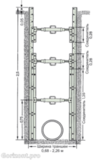 Алюминиевая крепь LITEBOX 250
