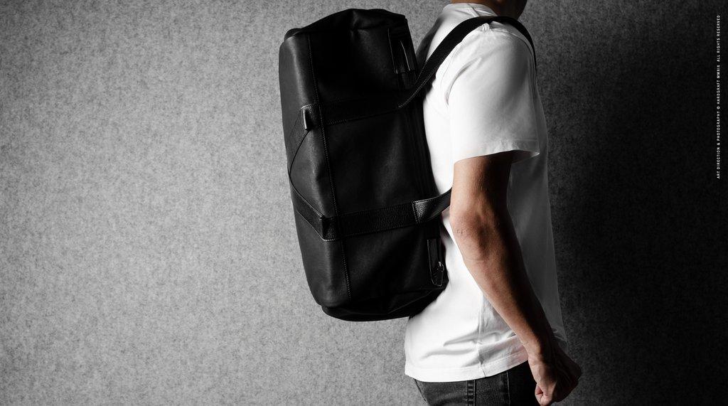 Hard Graft Спортивная сумка Game Gym Bag Black Coated
