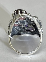 Вербена (кольцо   из серебра)