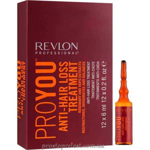 Revlon Professional Pro You Anti Hair Loss Treatment - Засіб проти випадіння волосся