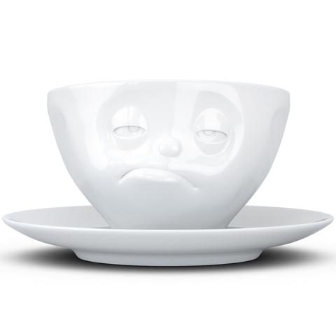 Чайная пара Tassen Snoozy 200 мл белая