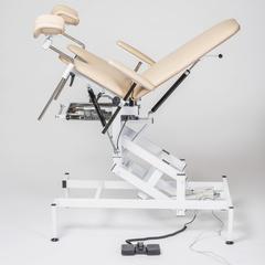 Гинекологическое кресло КСГ-02э с электроприводом высоты с Регистрационным удостоверением