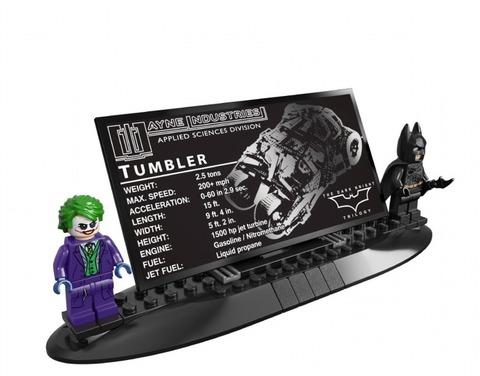 LEGO Super Heroes: Бэтмобиль Тумблер 76023 — The Tumbler — Лего Супергерои ДиСи