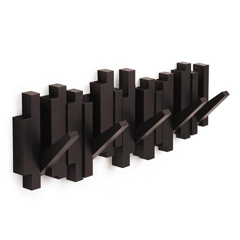 Вешалка настенная Sticks эспрессо Umbra